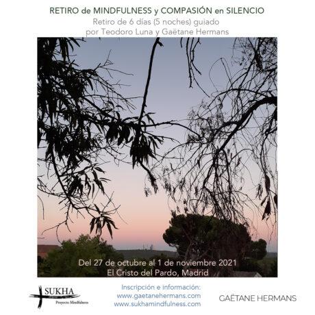 Información y formulario inscripción RETIRO de Mindfulness y Silencio